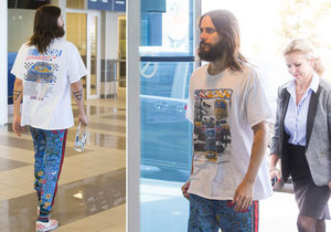 Jared Leto opustil Prahu.