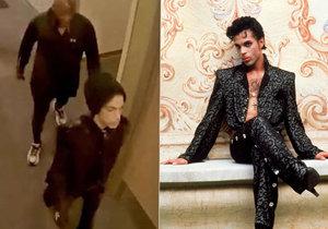 Poslední záběry zpěváka Prince před smrtí