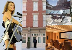 Do domu Taylor Swift se vloupal posedlý fanoušek.