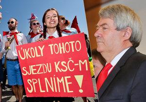 """""""Putinovy d*vky, rudá lůza,"""" vypískali komunisty."""