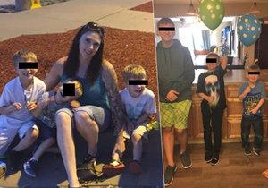 Matka při požáru ztratila 4 syny. Zvenčí sledovala, jak její dům hoří na prach s dětmi uvnitř.