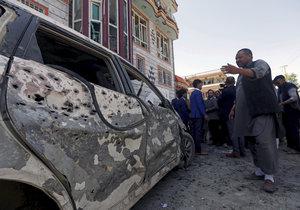 Teroristický útok v Kábulu (22.4.2018)