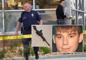 Další střelecký masakr v USA: Naháč zabil čtyři lidi a další zranil. Pak uprchl