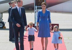 William, Kate, George, Charlotte Elizabeth a teď i další královský potomek, jehož jméno teprve bude oznámeno. Tuhle rodinu Britové milují.