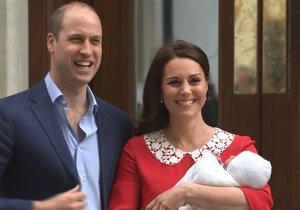 William a Kate představili třetího potomka!