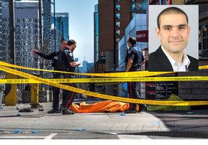 Dodávka najela v Torontu do lidí, nejméně deset mrtvých.