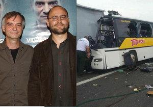 Spisovatel a režisér Peter Krištúfek (†44) zahynul při nehodě autobusu na Slovensku.