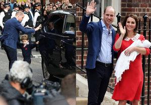 Kate a William mají nový vůz.