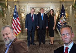 Podle českého velvyslance v USA Hynka Kmoníčka kazí termín schůzky prezidenta Miloše Zemana s americkým protějškem Donaldem Trumpem i to, že Česko nemá vládu s důvěrou. Pro bývalého ministra zahraničí Cyrila Svobodu je to pseudodůvod.