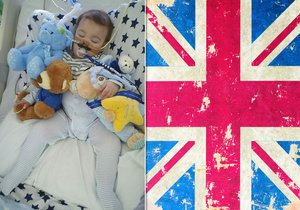 Británie zamítla přepravu nevyléčitelně nemocného dítěte do Říma.