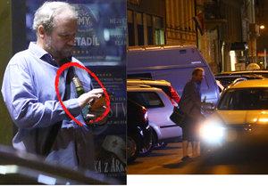 Marek Taclík držel v ruce láhev piva i přesto, že  měl v minulosti problémy se slinivkou.