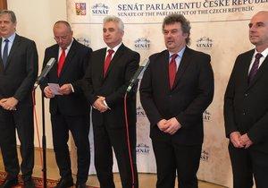 Předseda Senátu Milan Štěch je proti koalici s ANO: Někteří členové vedení ČSSD otočili ve chvíli, kdy se začalo mluvit o rozdělování postů.