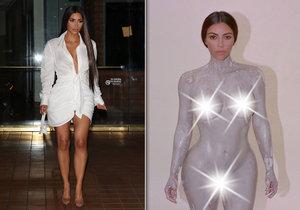 Kim Kardashian odhodila stud.