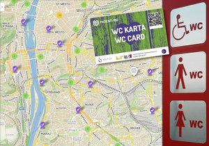 WC kartu dává jejich držitelům přednost při použití veřejných i neveřejných toalet