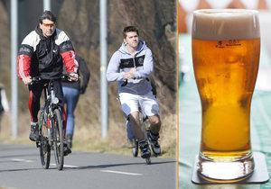 V Senátu se řešilo povolení alkoholu pro cyklisty. Vosecký je pro, Chmelová proti