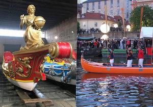 Znovuobnovené vodní slavnosti Navalis budou v Praze už podesáté.