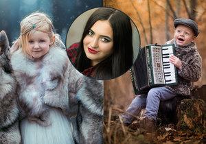 Petra Petřeková fotí profesionálně přesto, přestože jí bylo 18 let teprve letos 1. dubna. Živnosťák ji musel posvětit soud.