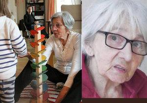 Božena Kšírová se ztratila z domova důchodců v Liberci.