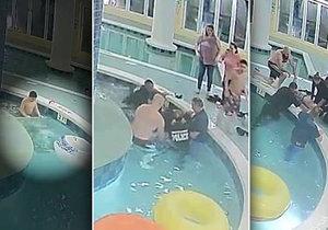 Chlapce (12) přisál odtok bazénu. Pod vodou byl 9 minut, ale přežil!