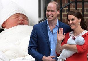 Miminko Williama a Kate je Louis Arthur Charles! Co jméno znamená a po kom ho zdědil?