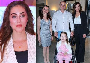 Missky Habáňová a Bezděková pomáhaly holčičce se spinální svalovou atrofií! Na Nicolku se vybralo skoro 300 tisíc