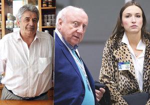 Zemřel léčitel, který spojil cesty Felixe Slováčka a Lucie Gelemové.
