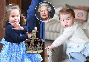 Princezna Charlotte slaví 3. narozeniny, už teď trénuje na královnu! Šlape na paty prababičce?
