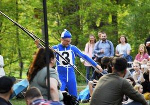 Běžkaři odstartovali léto v Karlíně: Sezóna kulturního centra Přístav 18600 zahájena!