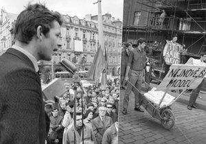Uvolněná atmosféra během pražského jara 1968