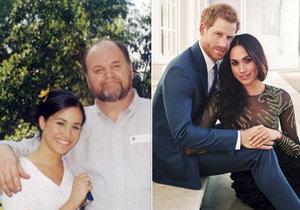 Otec Meghan Markle přiletí na svatbu