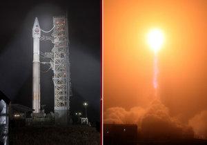 Ze Země odlétla sonda, která pronikne do jádra rudé planety.