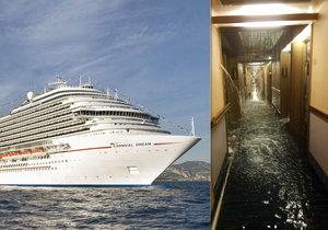 Horor na palubě výletní lodi.