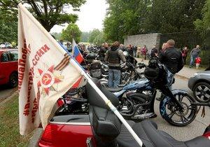 Členové motorkářského klubu Noční vlci blízkého ruskému prezidentovi Vladimiru Putinovi přijeli 4. května dopoledne do Frýdku-Místku a zúčastnili se oslav konce druhé světové války.