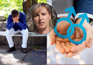 Tisíce mladých Čechů se trápí kvůli své sexuální orientaci, mají obavy z reakcí okolí.