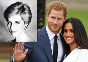 Princezna Diana nebude chybět na královské svatbě! Jak Harry uctí zesnulou maminku?