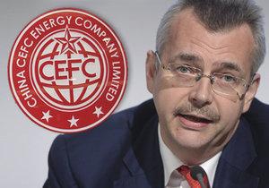 Exministr Tvrdík, dosavadní místopředseda CEFC Europe