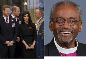 Proslov na svatbě Harryho a Meghan pronese i americký biskup.