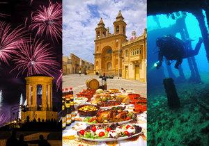 Malta: Ostrov mimo čas a prostor vybízí k romantice i ochutnávkám specialit.