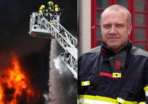 Martin Kavka promluvil o hasičském žargonu.
