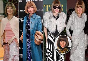 Františka hodnotí počiny obávané módní kritičky Anny Wintour.