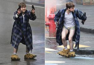 Daniel Radcliffe natáčí nový snímek.