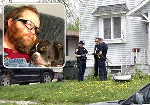 Američana postřelil jeho vlastní pes.