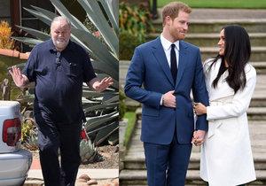 Princ Harry je zdevastovaný kvůli své snoubence, kterou trápí otcův infarkt a neúčast na jejich svatbě.