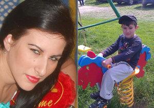 Syn zavražděné Veroniky se setkal se svou tetičkou.