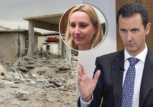 Zpověď syrské lékařky: Asad mi zavraždil tchána, je to psychopat.