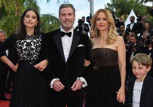 John Travolta a jeho rodina