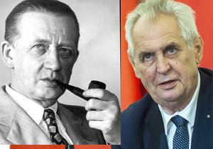 Spor o výroky prezidenta Miloše Zemana na adresu novináře a spisovatele Ferdinanda Peroutky se vrátil znovu na začátek.