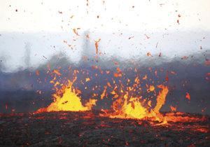 Sopka Kilauea hrozí další explozí.