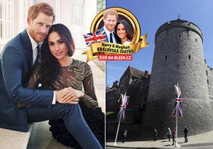 Bude Harrymu a Meghan pršet štěstí? Britové už mají jasno, jaké počasí bude v den svatby.