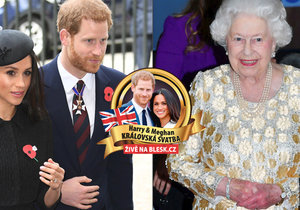 Meghan Markle nikdy nebude princeznou! Jaký titul získá od královny?